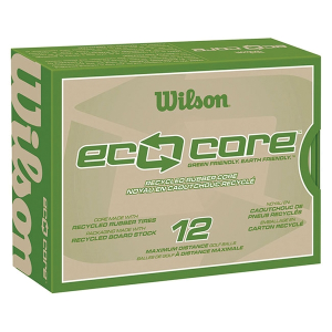 Wilson® Eco Core Golf Ball Std Serv