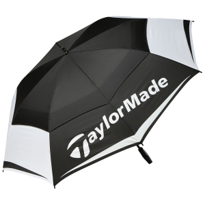 TaylorMade® Tour Double Canopy Umbrella 64""