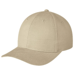 Six Panel Brushed Cotton Drill Baseball Cap