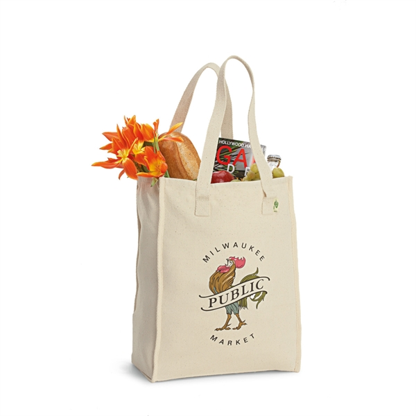 Recycled Cotton Market Bag | Full Line Specialties Inc  - Order promo