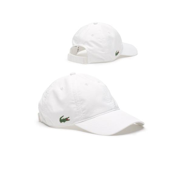 00830f86 Lacoste Sport Cap In Solid Diamond Weave Taffeta. enquire; wish list