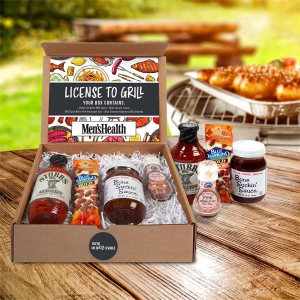License To Grill - BBQ Gourmet Kit